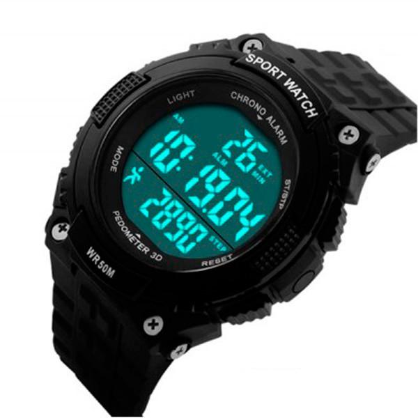 Мужские часы Skmei 1234 Черные