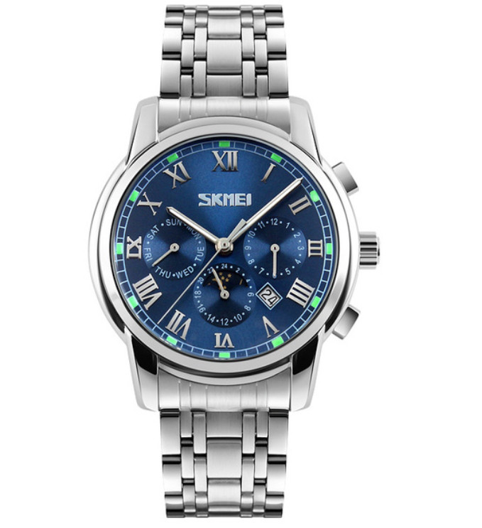Мужские часы Skmei 01033 Silver