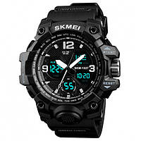 Мужские часы Skmei 01230 Черный, фото 1