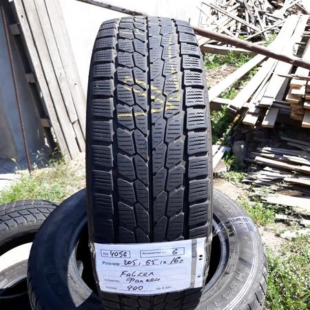 Бусовские шины б.у. (усиленная резина бу) 205.65.r16с Falken EuroWinter Фалкен