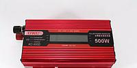 Преобразователь автомобильный AC/DC UKC 500W KC-500D с LCD дисплеем, фото 1