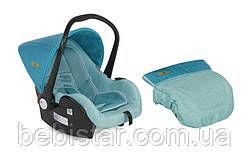 Автокресло зеленовато-голубой Lorelli LIFESAVER 0-13 KG AQUAMARINE