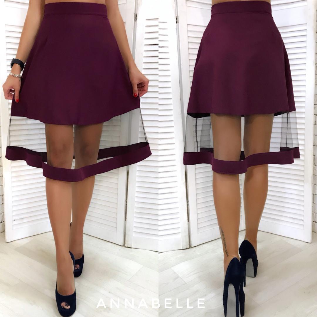 1e48a4fc635 Женская юбка с фатином мод.1187 - Интернет- магазин