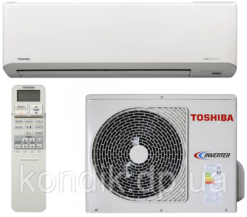 Кондиционер Toshiba RAS-10N3KVR-E/RAS-10N3AVR-E інвертор, фото 2