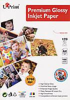 Фотобумага А4 170г/кв.м. 1 лист