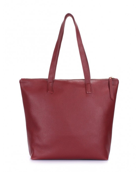 Кожаная сумка марсала 6523-11