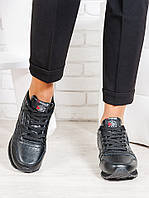Кроссовки R!!bok черная кожа 6505-28, фото 1