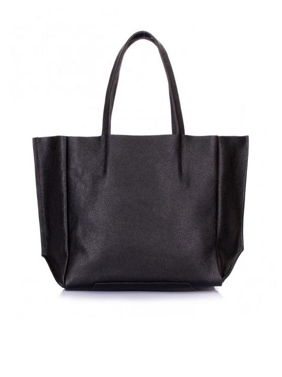 Кожаная сумка черная 6564-11