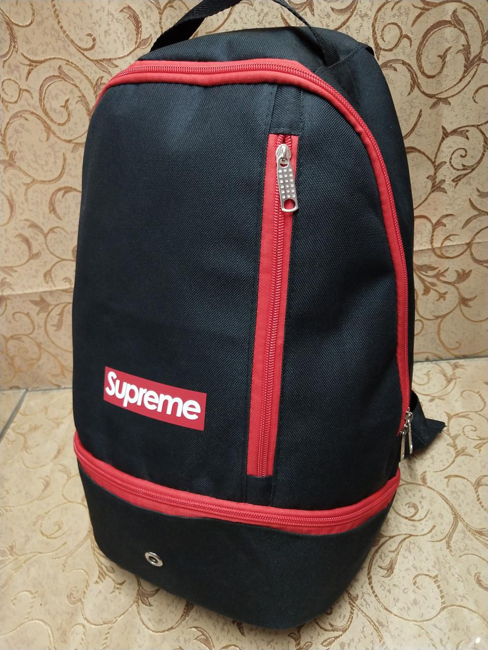 Рюкзак спортивны Supreme Оксфорд ткань  Новый стиль/Рюкзак спорт городской стильный