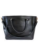 Кожаная сумка черная Liya 6694-11, фото 1
