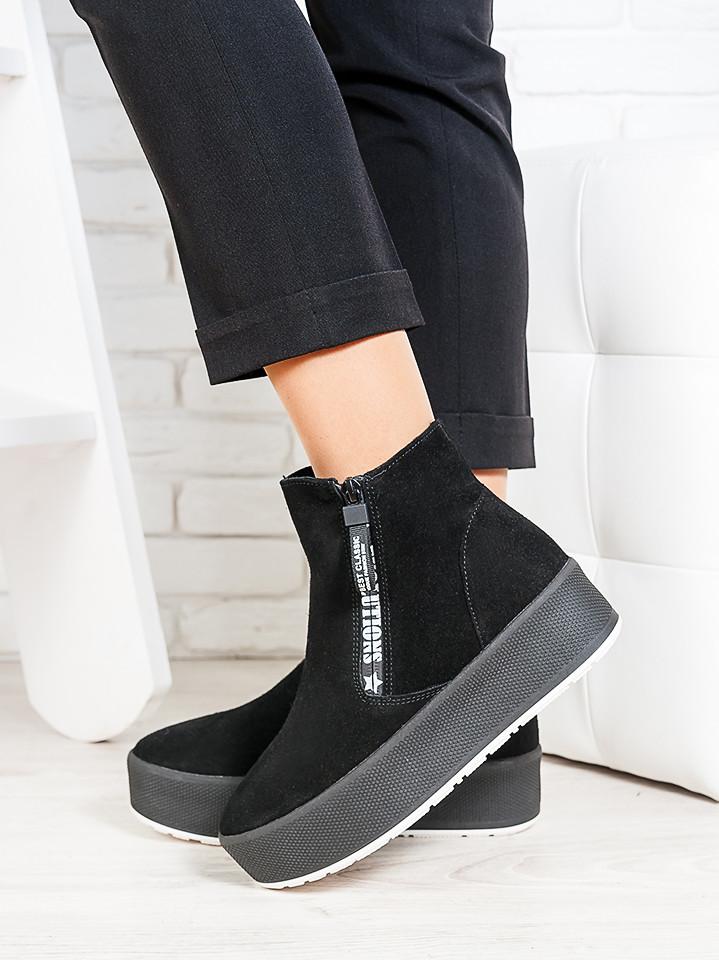 Ботинки натуральная замша EVO 6705-28
