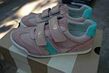 Кроссовки Pantofola d Oro замшевые для девочки Италия, фото 2