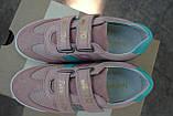 Кроссовки Pantofola d Oro замшевые для девочки Италия, фото 3