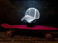 "3d светильник ""Бейсболка"" 3DTOYSLAMP, фото 1"