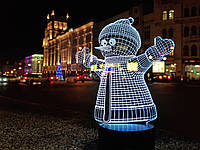 """Детский ночник - светильник """"Снеговик"""" 3DTOYSLAMP, фото 1"""
