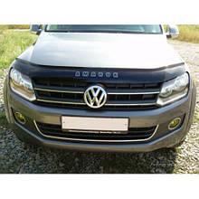 Дефлектор капота, мухобойка VW Amarok с 2010 г.в. VIP