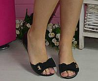 Мыльницы женские - распродажа модели черный, 22.5 см