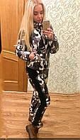 Женский зимний теплый спортивный костюм на синтепоне  , фото 1