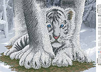 Схема для вышивки бисером Тигрёнок