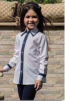 Блуза котоновая Алина Suzie Размеры 116- 128