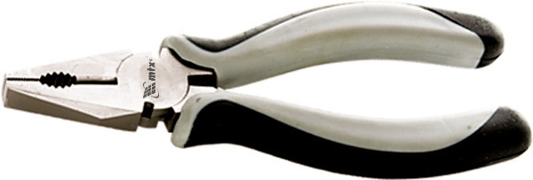 Плоскогубці GRAND, 180 мм, комбіновані нікельовані, двокомпонентні рукоятки// MTX