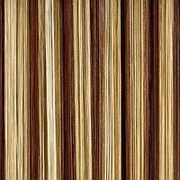Шторы нити Радуга (Шоколадный, Шампань, Бежевый) №8+13+14