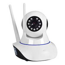 IP камера видеонаблюдения Q5 WIFI Yoosee стильная поворотная сетевая