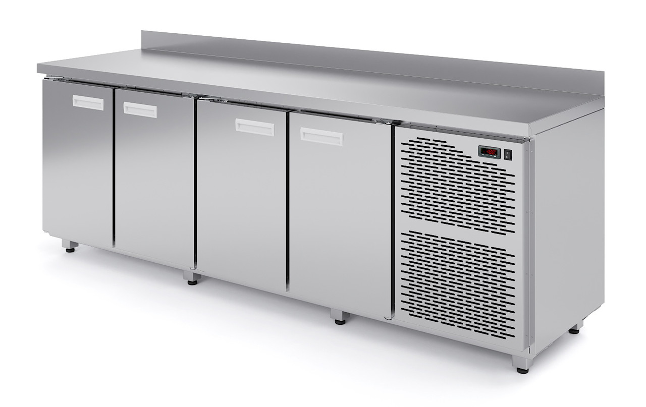 Среднетемпературный стол четыре двери для продуктов СХС 4-70 (-2...+6)