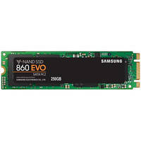 SSD накопитель Samsung 860 EVO 250GB M.2 SATA MLC (MZ-N6E250BW)