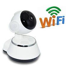 Поворотная IP камера видеонаблюдения Q6 WIFI Yoose встроенный микрофон