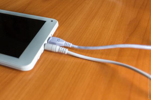 как правильно зарядить планшет
