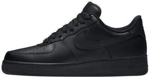 """Мужские кроссовки в стиле Nike Air Force 1 Mid '07 """"Black"""""""