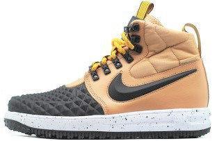 """Мужские кроссовки в стиле Nike Lunar Force 1 Duckboot '17 """"Brown/Black"""""""