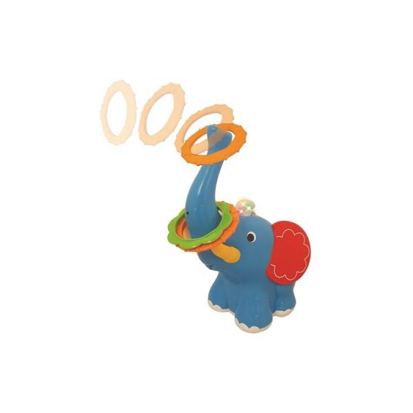 Развивающая игрушка- кольцеброс Ловкий Слонёнок Kiddieland