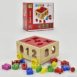 Деревянная игра 555-250 Логика-Сортёр