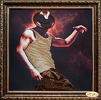 Набор для вышивки бисером Огонь НГ-009