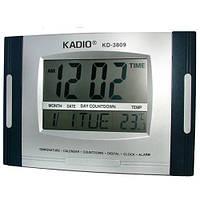 Часы цифровые KK 3809 N для авто и дома. (СКЛАД-1шт), фото 1