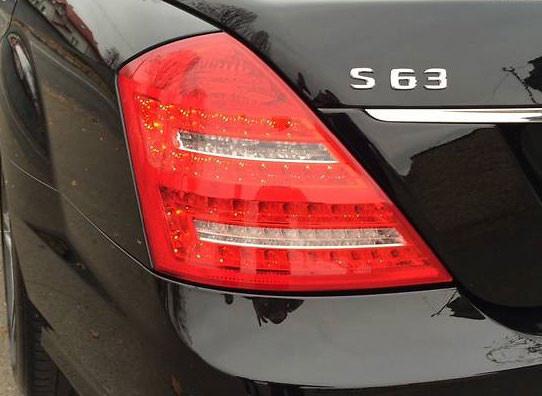 Фонари задние на Mercedes W221 DEPO (LDME50)