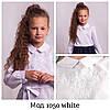 Блузка  с белой вышивкой