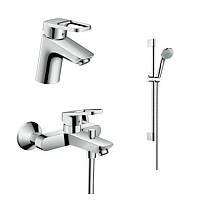 Hansgrohe LogisLoop 1042017 набор смесителей для ванны, умывальник 70