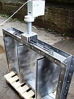 Заслонки регулирующие с электроприводом на дымовые газы