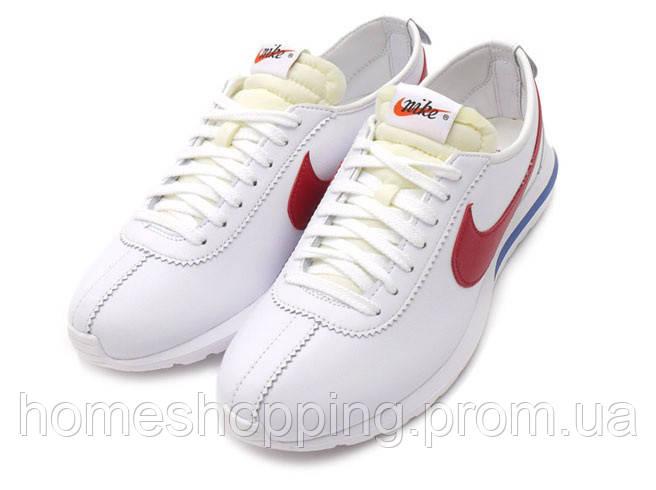 Мужские Кроссовки Nike Roshe Cortez Forrest Gump белые