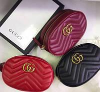 84483f764a39 Женская поясная сумка на пояс в стиле Gucci (Гуччи) женская бананка,  поясная сумка