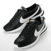 Мужские Кроссовки Nike Roshe Cortez Black черные, фото 1