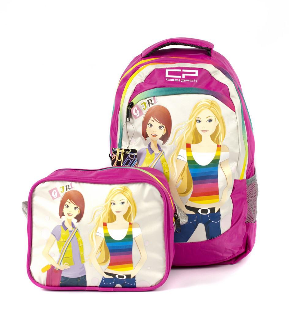 Рюкзак школьный CoolPack Девочки 1305 розовый Турция