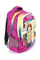 Рюкзак шкільний CoolPack Дівчинки 1305 рожевий Туреччина, фото 2