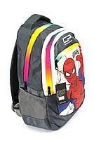 Рюкзак школьный CoolPack Человек-Паук 1400 серый Турция, фото 2