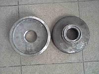 Упор выпуклый (круг) стальной ДМТ-4.