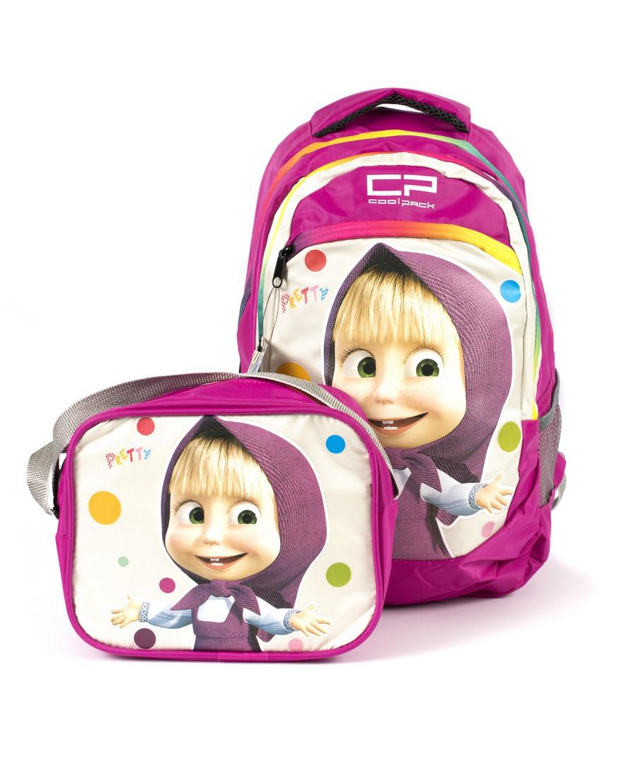 Рюкзак школьный CoolPack Маша 1301 розовый Турция
