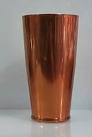 """Шейкер """"Бостон"""" с широким дном медного цвета H 170 мм (шт)"""